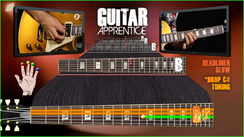 Guitar Apprentice - Easy to Read Fingerboards